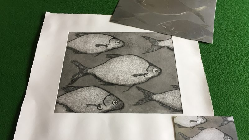What is etching?